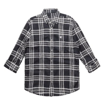 Camisa Chess Hamê Preto