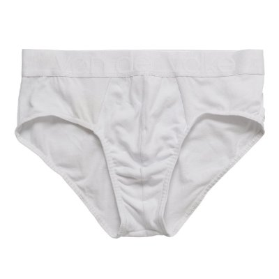 Cueca Slip Basis Nd Branco/Preto