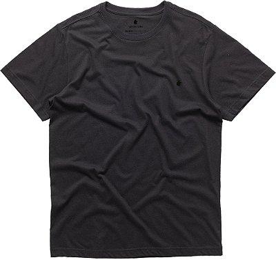 Camiseta Masculina Básica Gola Redonda Malha Algodão - Preto