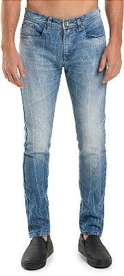 Calça Jeans Ecológica Masculina Com Bolsos Modelagem Tradicional - Denim