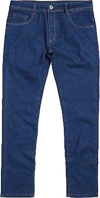 Calça Jeans Ecológica Básica Masculina Com Bolsos - Denim