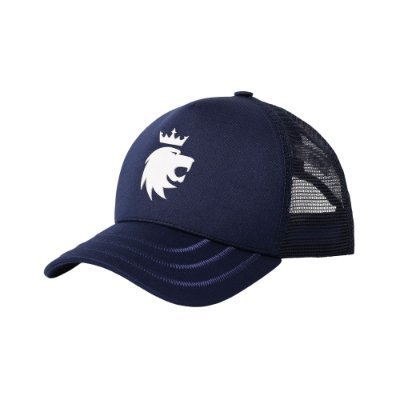 Boné trucker aba curva leão Vøn Der Völke - Azul