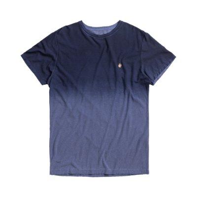Camiseta masculina de manga curto em malha botonê - Azul