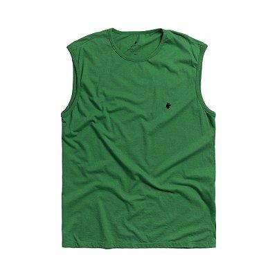 Regata masculina básica estonada Vøn der Völke - Verde