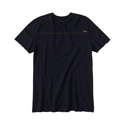 Camiseta Masculina em Crepe Leão Vøn der Völke - Preto