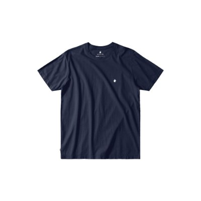 Camiseta básica masculina de gola redonda - Marinho