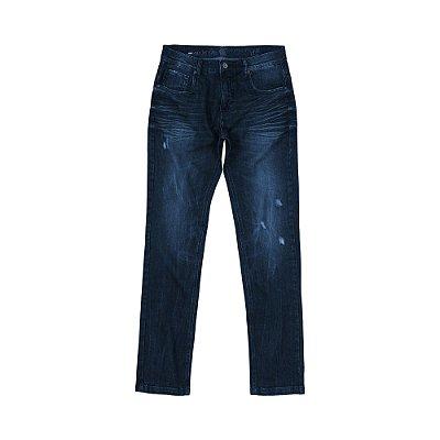 Calça Jeans Escura Skinny Masculina Harvey - Dark Denim