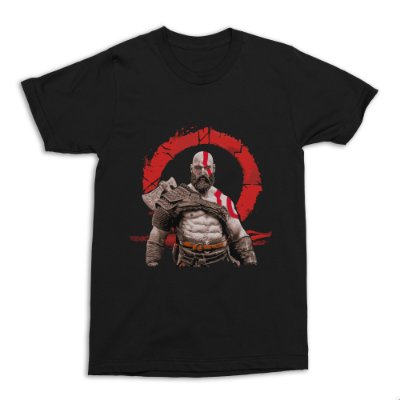 Camiseta God of War - Kratos