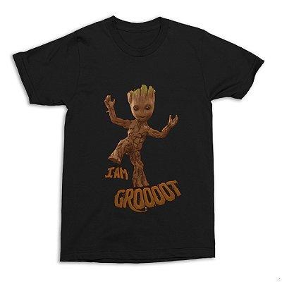 Camiseta Groot - I Am Groot