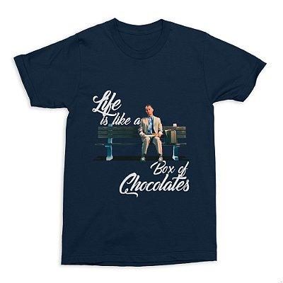 Camiseta Forrest Gump (Azul)