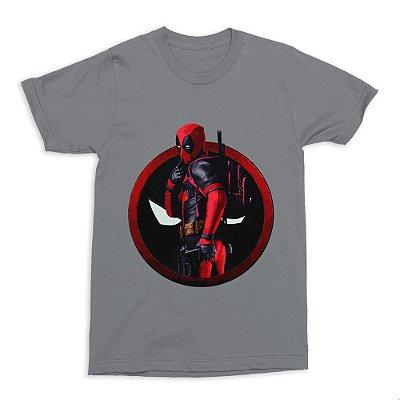 Camiseta Deadpool (Cinza)