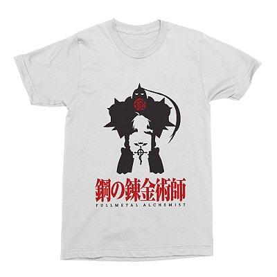 Camiseta Fullmetal Alchemist (Branca)