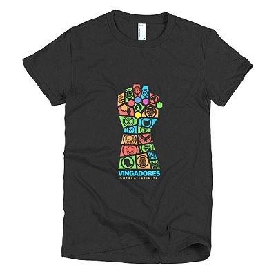 Camiseta Vingadores Guerra Infinita - Feminina