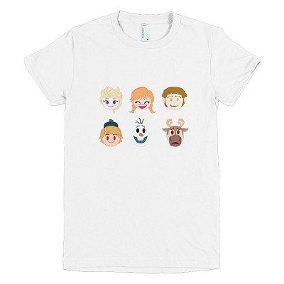 Camiseta Frozen - Feminina