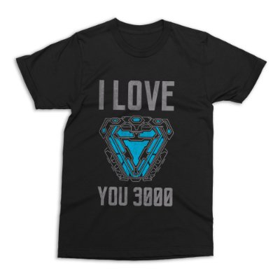 Camiseta Vingadores - I Love You 3000
