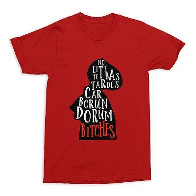Camiseta The Handmaid's Tale - Vermelha (Tamanho G)