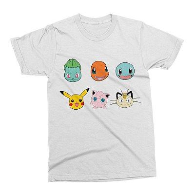 Camiseta Pokémon (Branca)