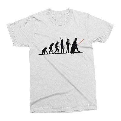 Camiseta Star Wars (Branca)