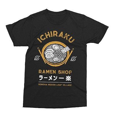 Camiseta Naruto Ramen Ichiraku