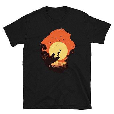 Camiseta Rei Leão (Preta)