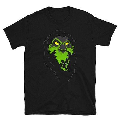 Camiseta Rei Leão - Scar (Preta)