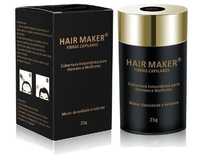 Hair Maker Fibras Capilares Castanho Escuro 25g