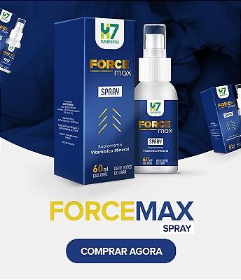 Force Max Spray - Mini Banner