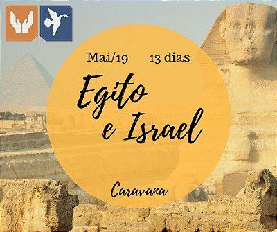 CARAVANA EGITO E ISRAEL – 13 DIAS / MAI 2019