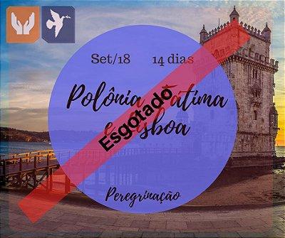 POLÔNIA, FÁTIMA E LISBOA - 14 DIAS / SET 2018
