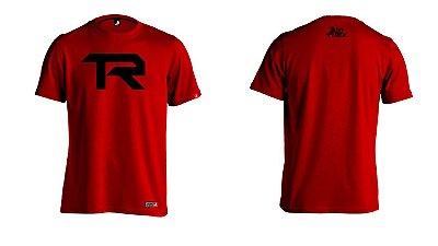 Camisa  Vermelha TR Preto Algodão - Coleção 2K21