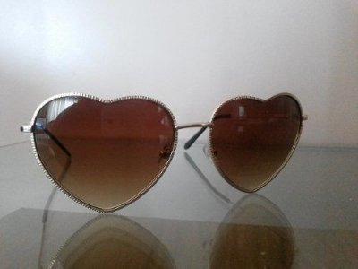 Óculos Feminino Coração