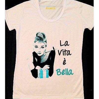 Camiseta Audrey  La Vita e Bella