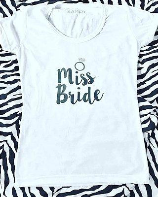 Camiseta Noiva Casamento Bride