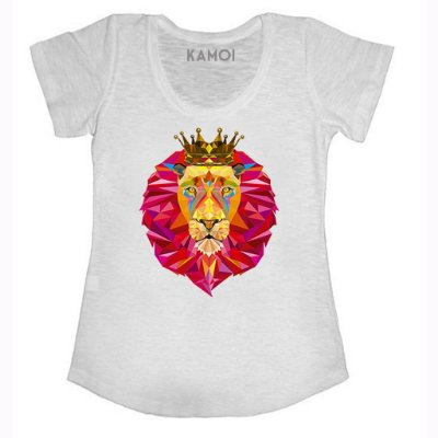 Camiseta Pink Lion