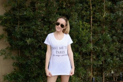 Camiseta Take Me to Paris