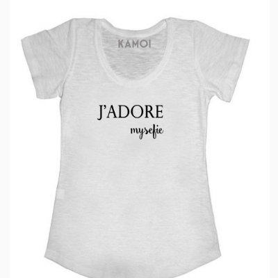 Camiseta J'adore
