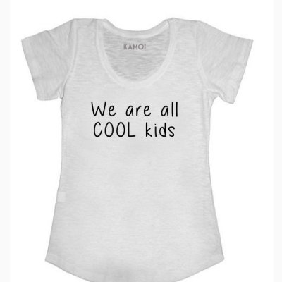 Camiseta We are all cool kids