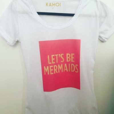 Camiseta Lets be mermaids