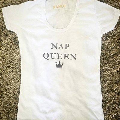 Camiseta Nap Queen