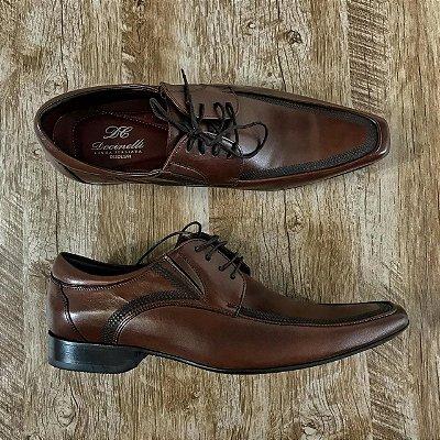 Sapato Marrom em Couro