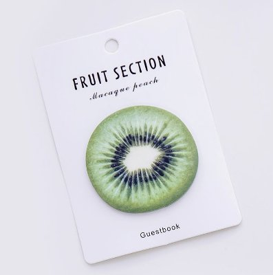 STICKY NOTE (POST IT)  FRUIT KIWI
