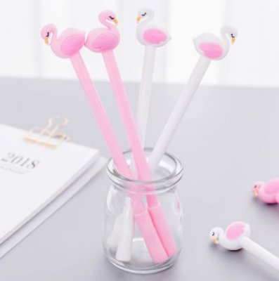 CANETA GEL FLAMINGO