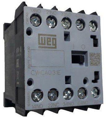 CWCA0-31-00C03 CONTATOR AUXILIAR 3NA+1NF 24VCC 10A 12486870 WEG