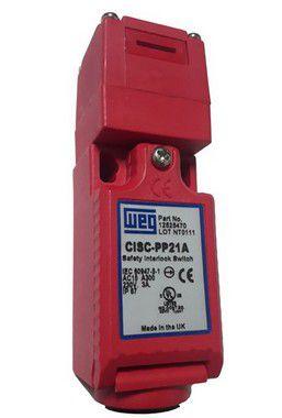 CISC-PP21A CHAVE INTERTRAVAMENTO DE SEGURANÇA SEM SOLENÓIDE 2NF+1NA 12525470 WEG