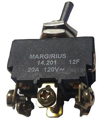 A1B1P1Q INTERRUPTOR BIPOLAR LIGA/DESLIGA 20A/120V 10A/250V 14201 MARGIRIUS