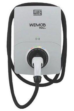 WEMOB WALL 7,4 KVA SEM IHM ESTAÇÃO DE RECARGA ELÉTRICA COM CABO PARA VEÍCULOS 15744306 WEG