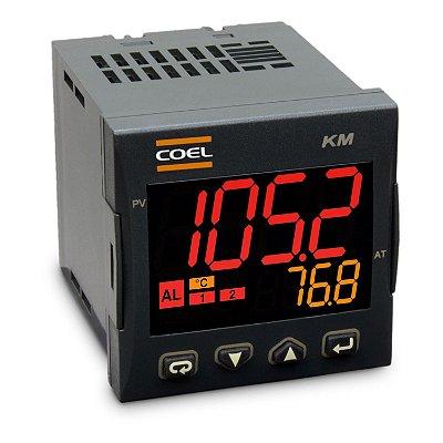 KM1BHGOR-P CONTROLADOR DIGITAL DE TEMPERATURA 100 À 240VCA/VCC COEL