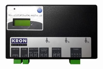 MULT-K 120 120A 500V 120/220VCA MULTIMEDIDOR DE ENERGIA Z032815211100 KRON MEDIDORES