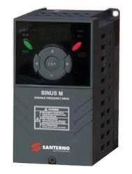 SINUS M 0002 2S/T BA2K2 INVERSOR DE FREQUÊNCIA 0,75-1,1 1,5CV 5A MONOFÁSICO/TRIFÁSICO 200-230V SANTERNO