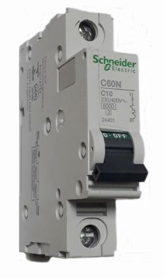 C60N C10 MINI DISJUNTOR 1 PÓLO 24401 SCHNEIDER ELECTRIC